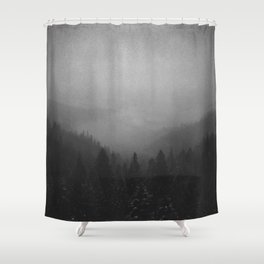Tamed Specter  Shower Curtain