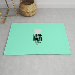 Real Grill Chefs are from Dhaka T-Shirt Rug