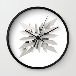 Uxitol (Struggle) Wall Clock