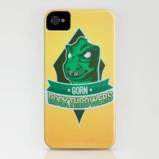 Gorn Rockthrowers iPhone (4, 4s) Slim Case