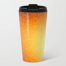 Golden Sun Stars Travel Mug