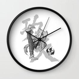 KungFu Zodiac - Dog Wall Clock