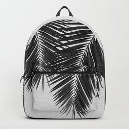 Palm Leaf Black & White II Backpack