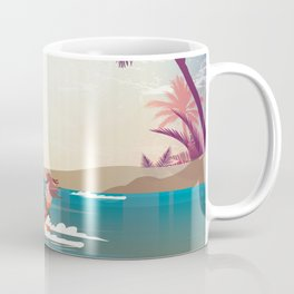 Kite surfer Woman Theme Coffee Mug