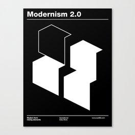 Modernism 2.0 Canvas Print