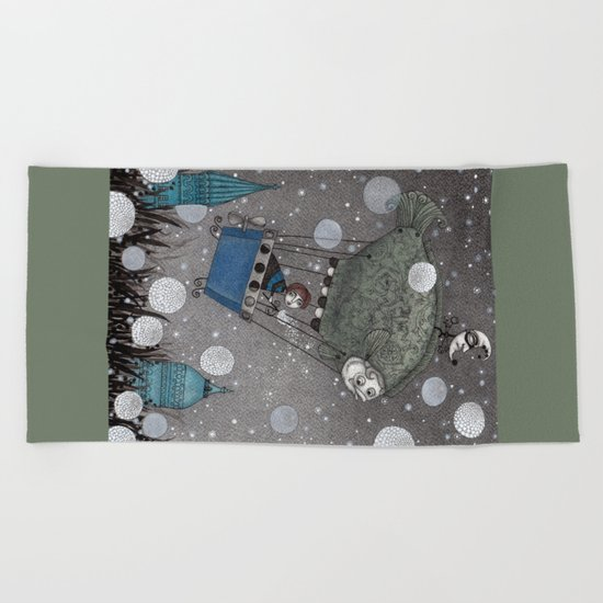 One Thousand and One Star Beach Towel