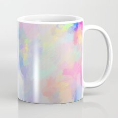 Secret Garden Colorful Abstract Impressionist Painting Mug