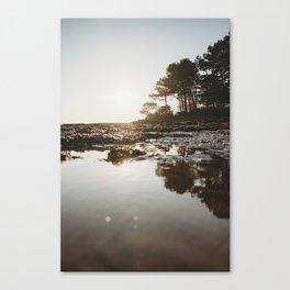 Scottish Golden Hour(reflection) Canvas Print