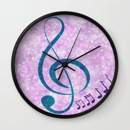 Music Love Wall Clock