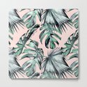 Island Love Coral Pink + Green by followmeinstead