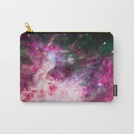 Pink purple nebula . Carry-All Pouch
