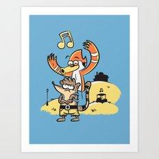 BANJOOOOOOOH! Art Print