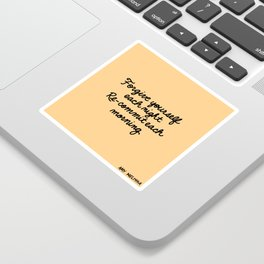 Re-Commit Sticker