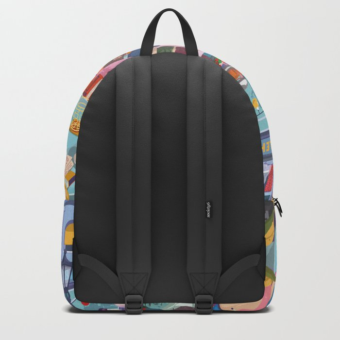 Terace BP soft colors Backpack