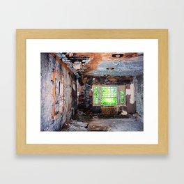 The Bones of Memory Framed Art Print