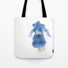 Blue Iris Inversion Tote Bag