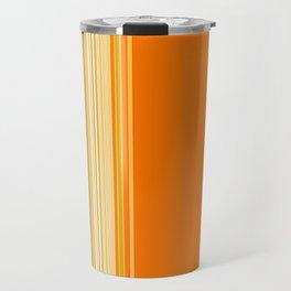 Retro Color Stripe Decor Travel Mug