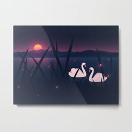 Swans – Love Will Save You Metal Print