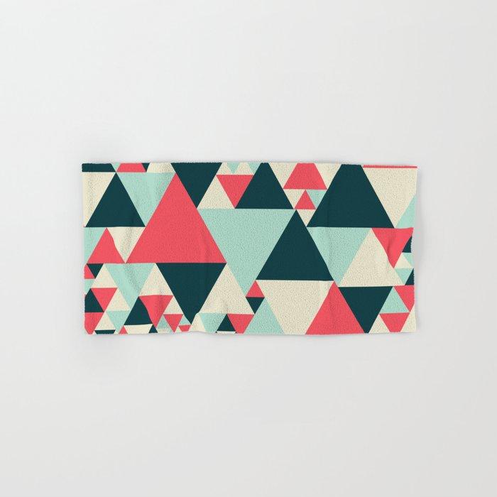 Triangular Pattern  Hand & Bath Towel