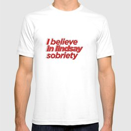lindsay sober T-shirt