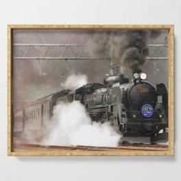 Steam Engine, Locomotive Serving Tray