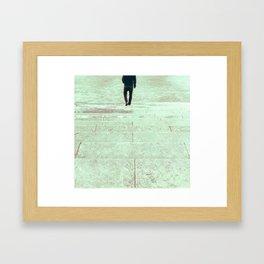 follow Framed Art Print