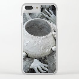 The White Temple - Thailand - 009 Clear iPhone Case