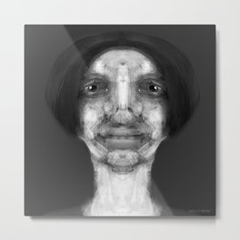 """Study for a Portrait, No. 246"" Metal Print"