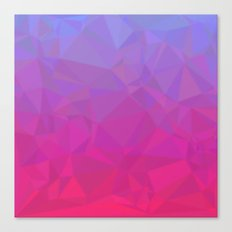 Purple and Pink Mosaic Canvas Print