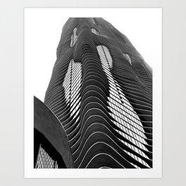 Aqua Tower #1 Art Print