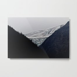 Denver Glacier Metal Print