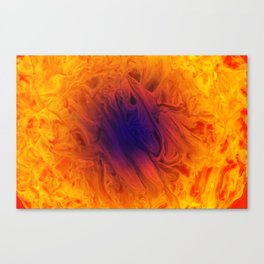 Fire Nerve Canvas Print
