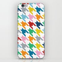 Rainbow Dogtooth iPhone & iPod Skin