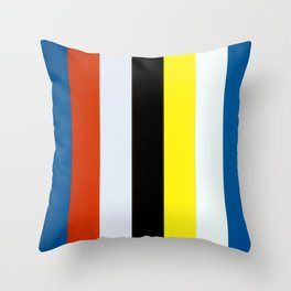 Ellsworth Kelly Red Yellow Blue White and Black Throw Pillow