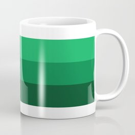 MN Logo - Green Stripes Coffee Mug
