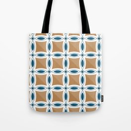 Circles with lens pattern and Diamond Tote Bag