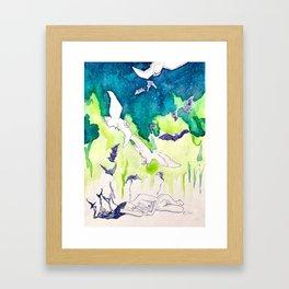 Reve de la Lune Framed Art Print