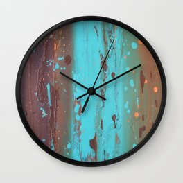 Drenched Wall Clock