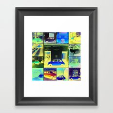 My 500's collection Framed Art Print