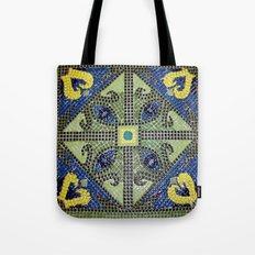 Geometric Eye Mosaic Tote Bag