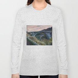 The Bridge across the Severn Gorge Long Sleeve T-shirt