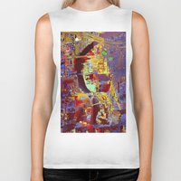 hotline miami Biker Tanks featuring miami by donphil