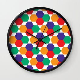 Geometric Shapes 03 Wall Clock