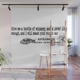 Archimedes Walks Into A Bar #3 Wall Mural