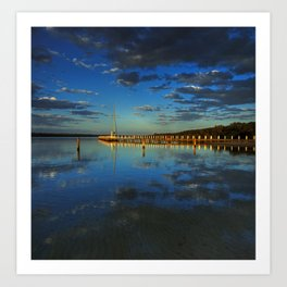 Evening Reflections Art Print