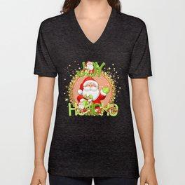 Christmas Joy Unisex V-Neck