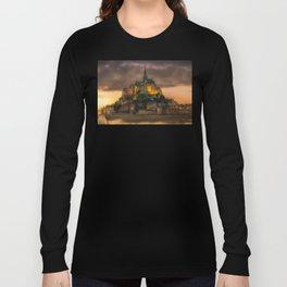 Le Mont Saint-Michel Long Sleeve T-shirt