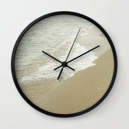 Edge of the ocean Wall Clock
