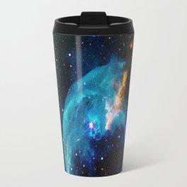 Blue Bubble Travel Mug