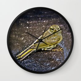 A little bird Wall Clock